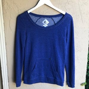 Volcom Heathered kangaroo pocket sweatshirt sz S